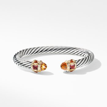 Renaissance Bracelet with Citrine and 14K Yellow Gold