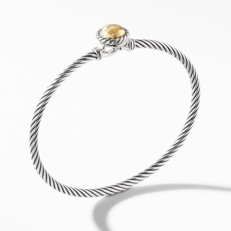 David Yurman Chatelaine® Bracelet with 18K Gold