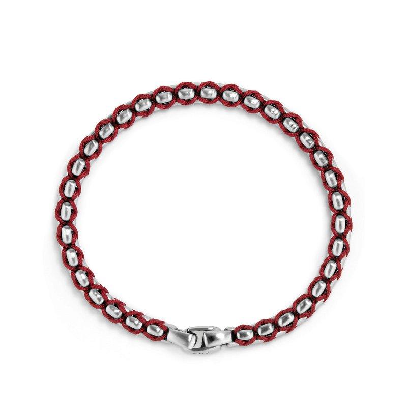 David Yurman Woven Box Chain Bracelet, 4.8mm