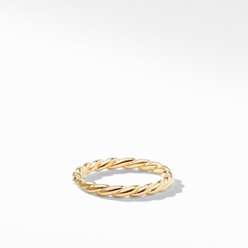 Paveflex Ring in 18K Gold, 2.7mm