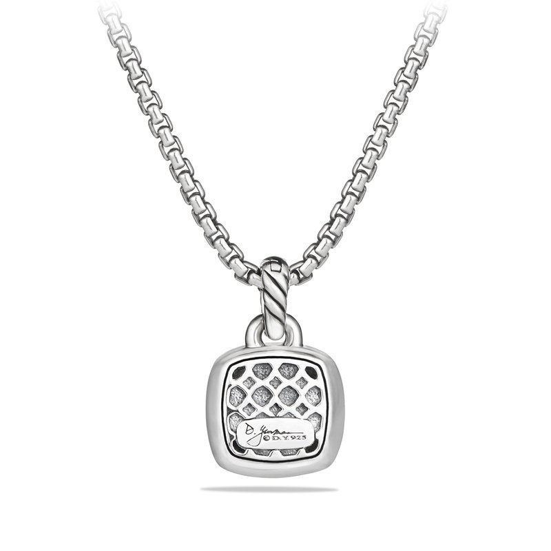 David Yurman Pendant with Amethyst and Diamonds