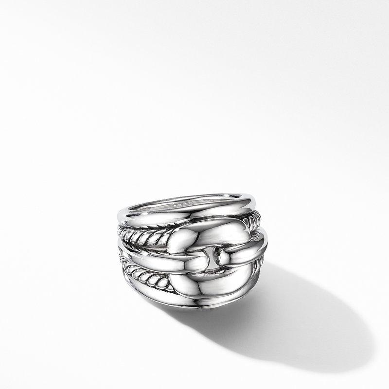 David Yurman Thoroughbred® Cushion Link Ring
