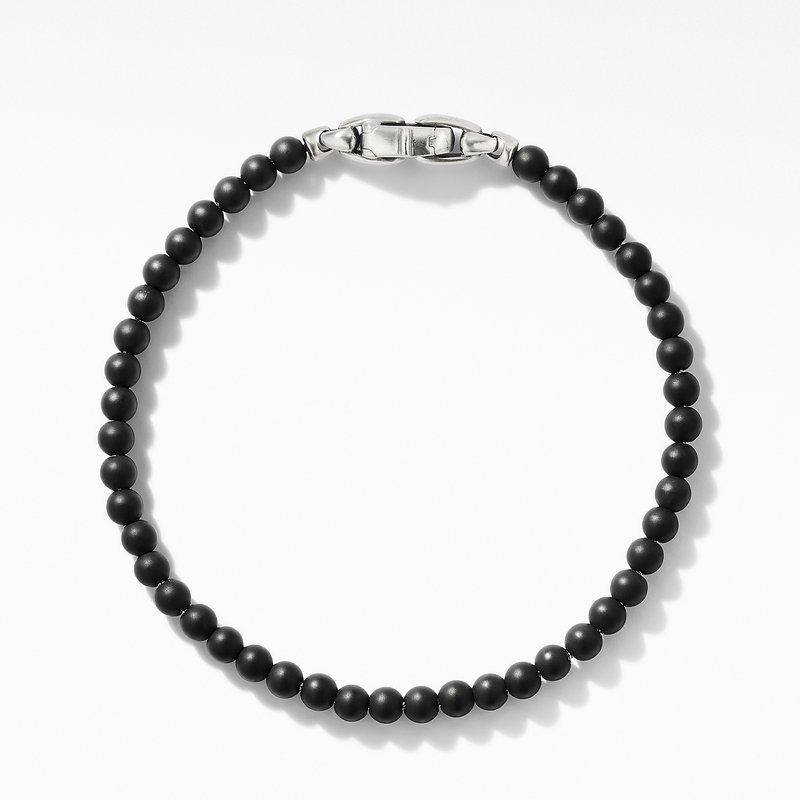 David Yurman Spiritual Beads Bracelet with Black Onyx