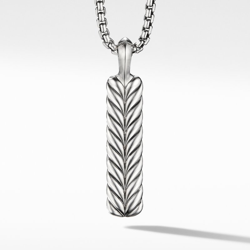 David Yurman Chevron Ingot Tag