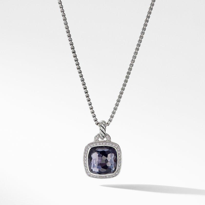 David Yurman Pendant with Lavender Amethyst and Diamonds