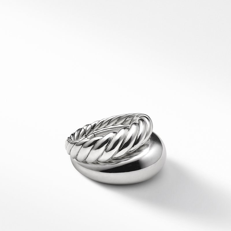 David Yurman Pure Form Two Row Ring