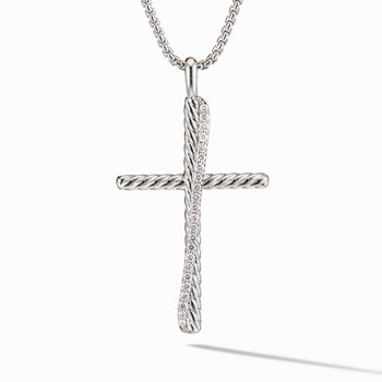 Crossover® XL Cross Necklace with Diamonds