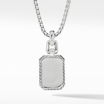 Novella Pendant with Blue Topaz, Sapphires and Pavé Diamonds