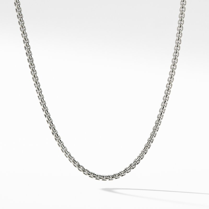 David Yurman Box Chain Necklace with Gold