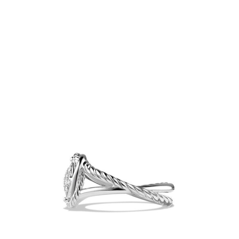 David Yurman Infinity Ring with Diamonds