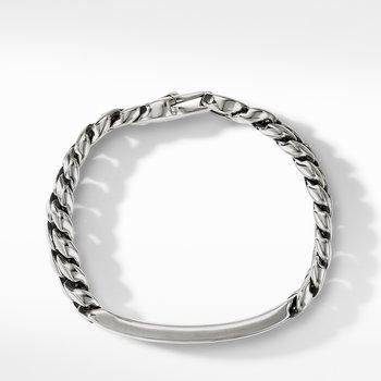 Curb Chain ID Bracelet with Pietersite
