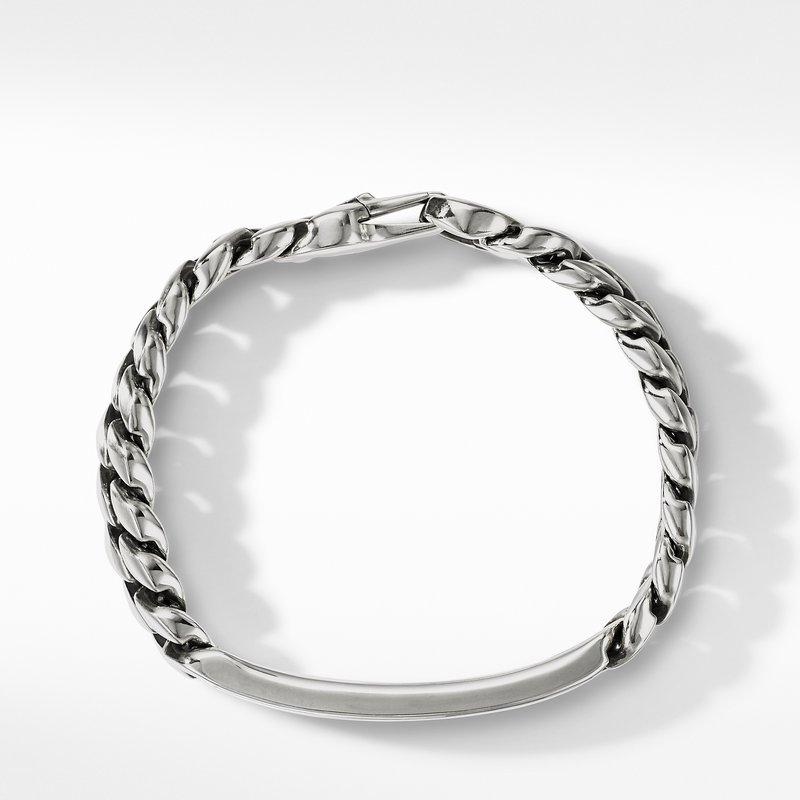 David Yurman Curb Chain ID Bracelet with Pietersite