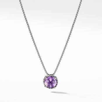 Châtelaine® Pendant Necklace with Amethyst