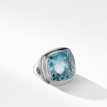 Albion® Statement Ring in Blue Topaz