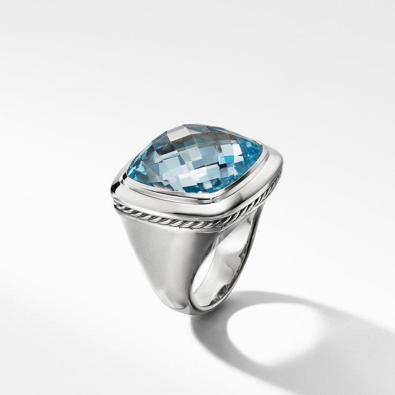 David Yurman Albion® Statement Ring in Blue Topaz
