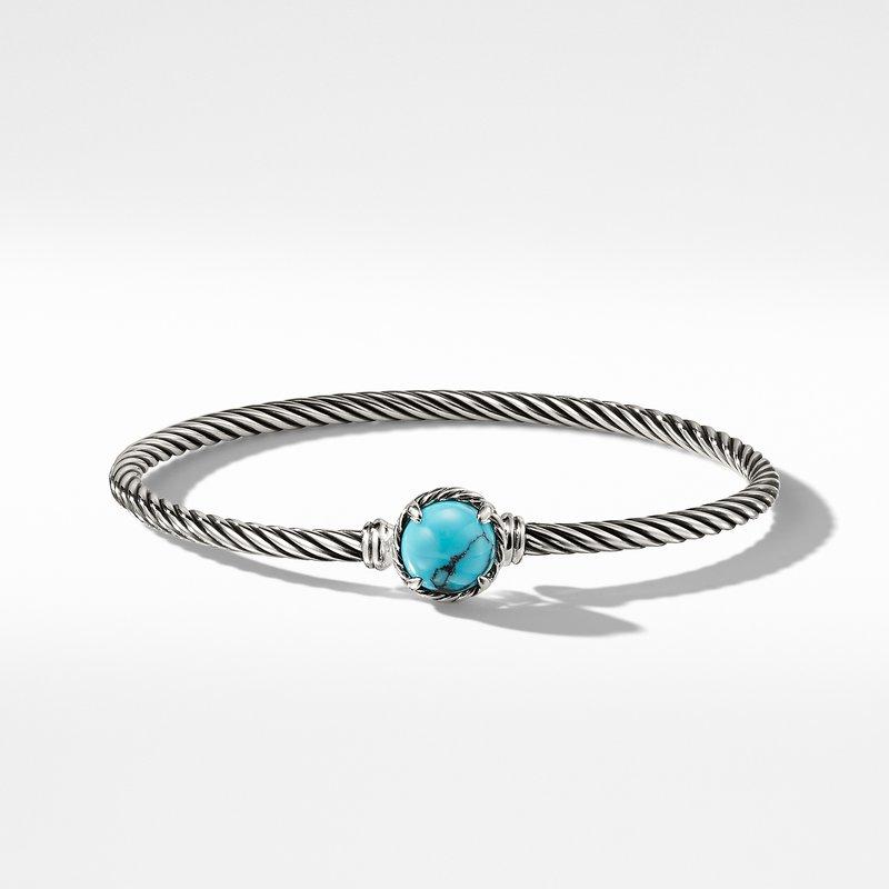 David Yurman Chatelaine Bracelet with Turquoise