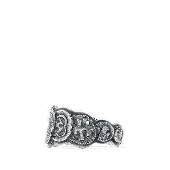 Shipwreck Coin Band Ring
