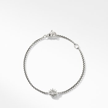 Starburst Kids Bracelet with Diamonds, 8mm