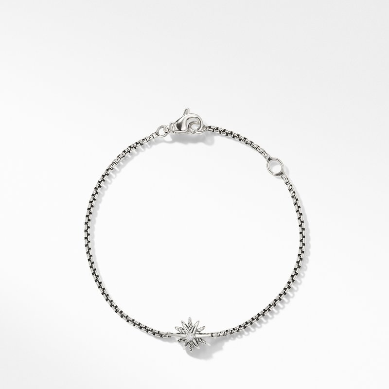 David Yurman Starburst Kids Bracelet with Diamonds, 8mm