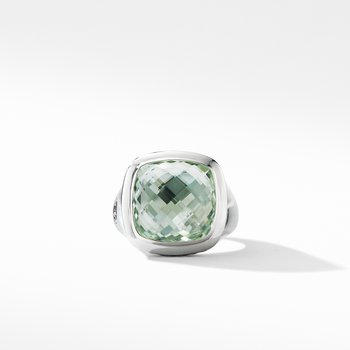 Albion® Ring with Prasiolite