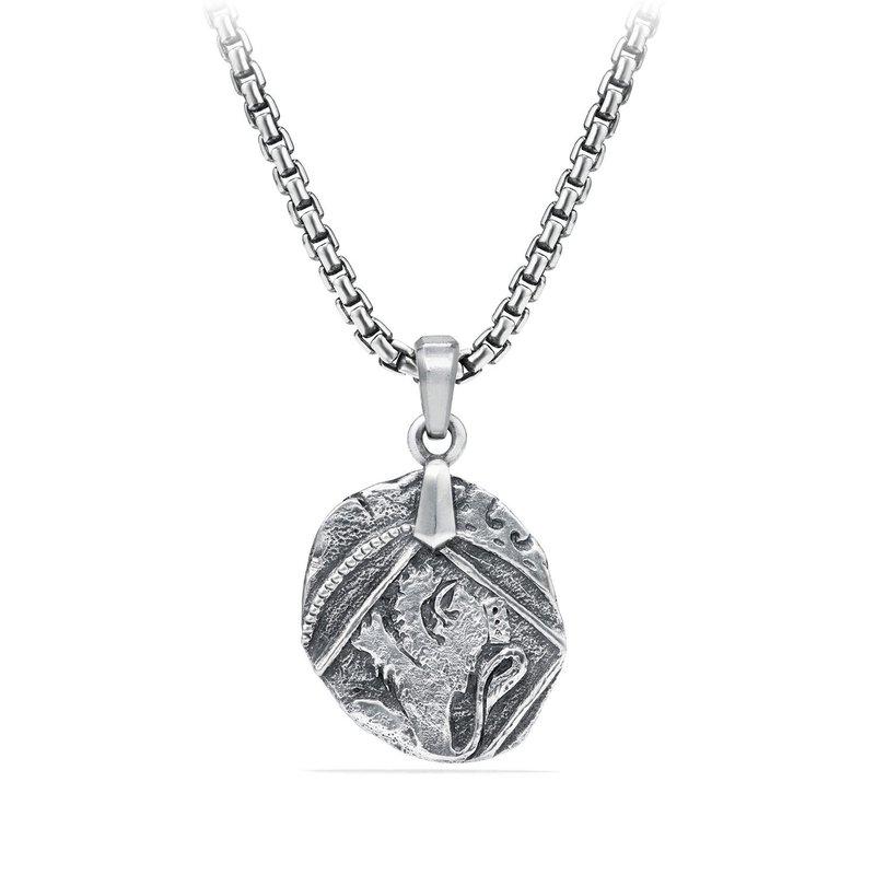David Yurman Shipwreck Coin Amulet
