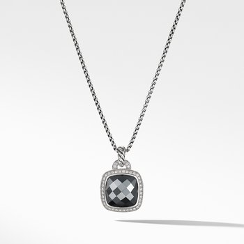 Pendant Hamatine and Diamonds
