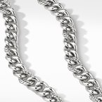 David Yurman Curb Chain Necklace