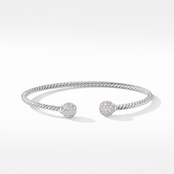 Solari Bracelet in 18K White Gold with Diamonds