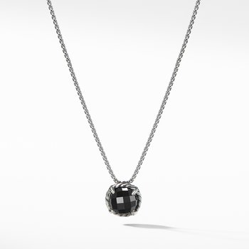 Chatelaine® Pendant Necklace with Black Onyx