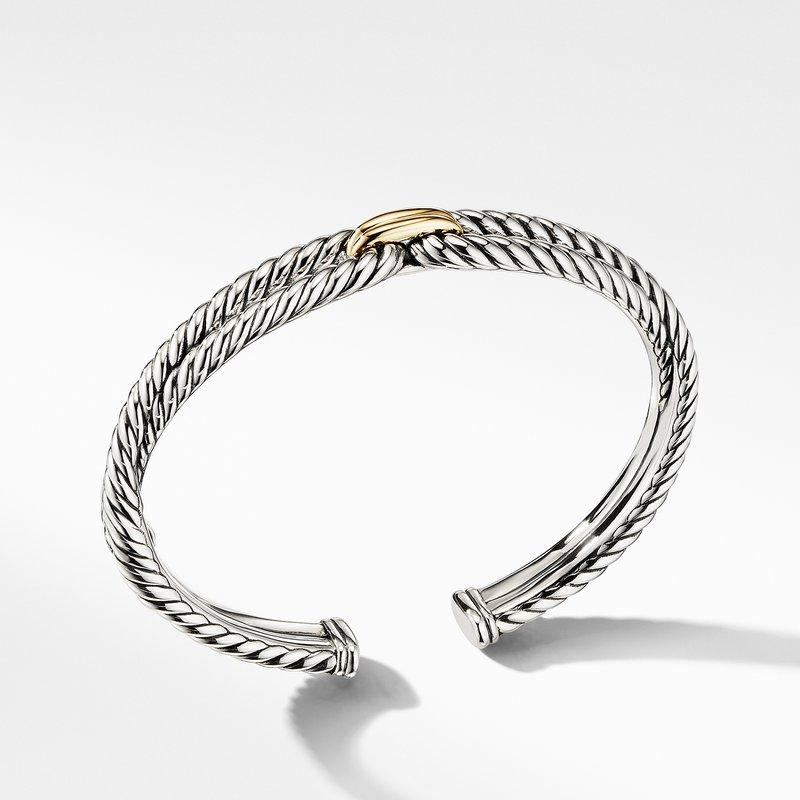 David Yurman Cable Loop Bracelet with 18K Gold