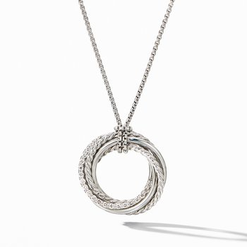 The Crossover Collection® Pendant Necklace with Diamonds