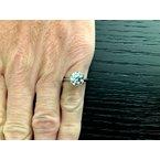 Pre-Loved Jewelry Tiffany Round 2.14 ct I VS1 $49k NEW 2019 Model