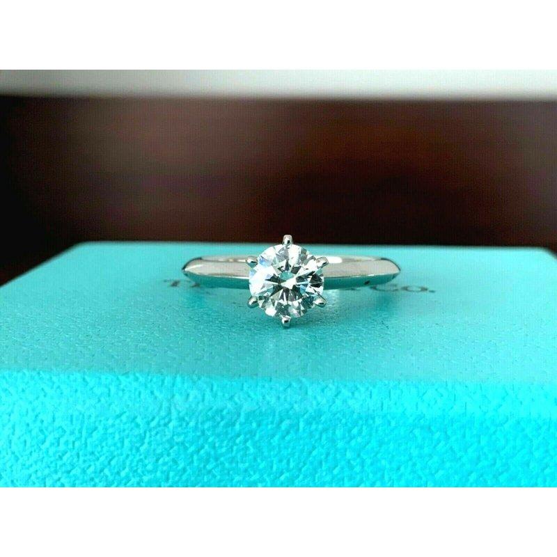 BRAND NEW UNWORN Tiffany .75 ct Round Solitaire