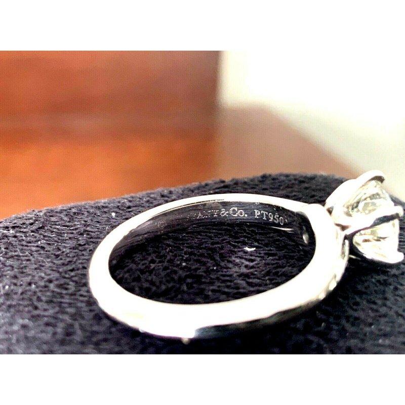 Pre-Loved Jewelry Tiffany Round 1.28 ct I VS1 $22k NEW