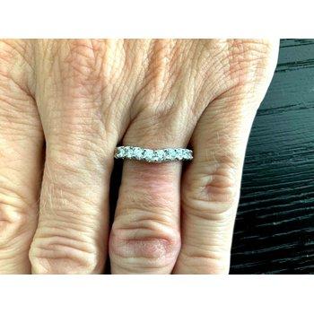 Diamond V Band 12 Diamonds 3 mm .60 tcw $3k NEW