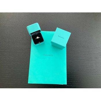 Tiffany Soleste .47 ct E VVS2 $5k NEW