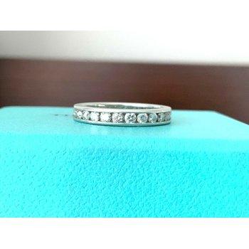Tiffany 3 mm Channel Set Diamond Ring $5k NEW