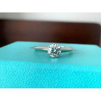 Tiffany Round .60 F VS2 3 EXC $7k NEW