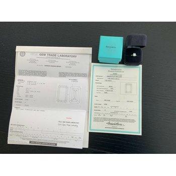 Tiffany Emerald Cut 2.02 ct H VVS2 $53k NEW