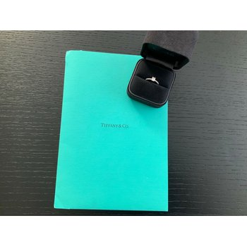 Tiffany NOVO New Design .71 ct H VVS1 $7k NEW