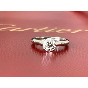 Cartier .82 ct Round Solitaire H VS1 3 EXC 2018 Model