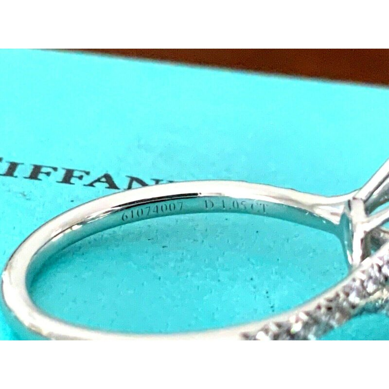 Pre-Loved Jewelry Tiffany Soleste 1.37 ct I VVS1 $20k NEW