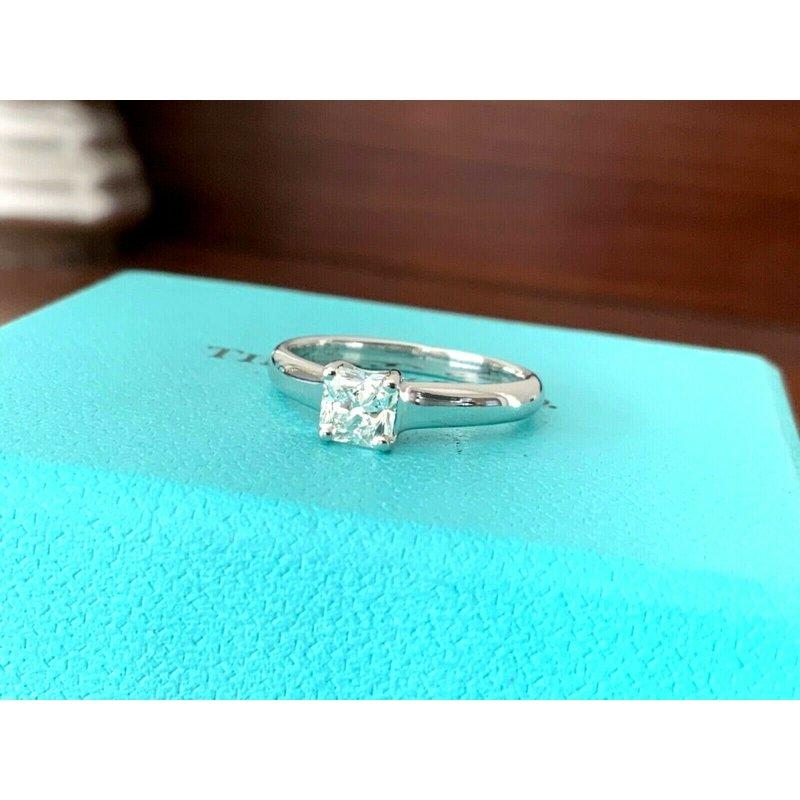 Pre-Loved Jewelry Tiffany Lucida .54 ct G VVS2 $7k NEW