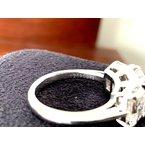 Pre-Loved Jewelry Tiffany Emerald 3 Stone Ring 4.18 ct E VVS $125k NEW