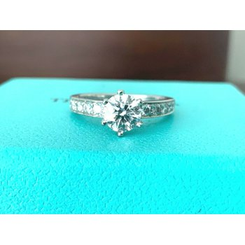 Tiffany Channel Set .90 ct E VVS2