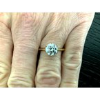 Pre-Loved Jewelry BRAND NEW 2021 Tiffany 1.36 ct Round 18k Gold