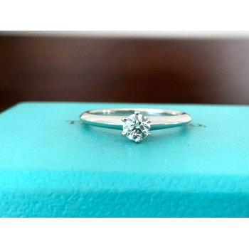 Tiffany Round .26 ct F VS2 $2500 NEW