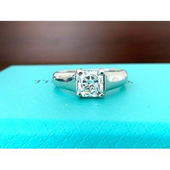 Tiffany LUCIDA .96 ct D VVS2 $16k NEW