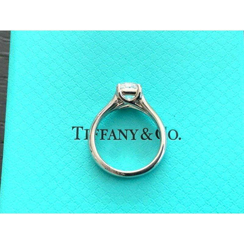Pre-Loved Jewelry Tiffany LUCIDA .96 ct D VVS2 $16k NEW