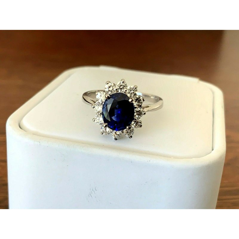 Pre-Loved Jewelry Royal Blue Madagascar Sapphire 2.02 ct